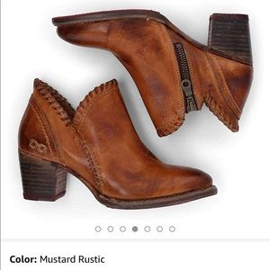 Bed Stu Carla Leather Booties NOT FOR SALE